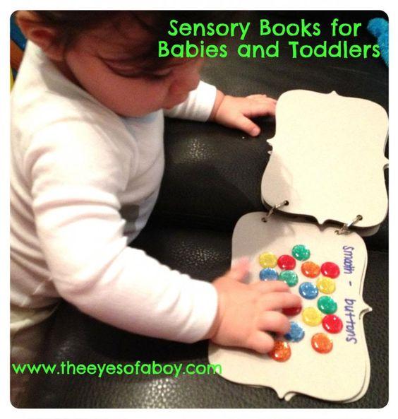 Sensory book in cartone - Le Cicogne